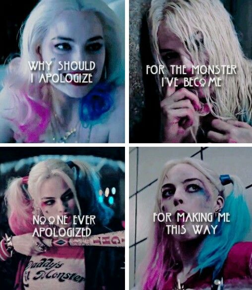 Harley Quinn Dc Suicidesquad Tumblr Joker And Quotes Harely