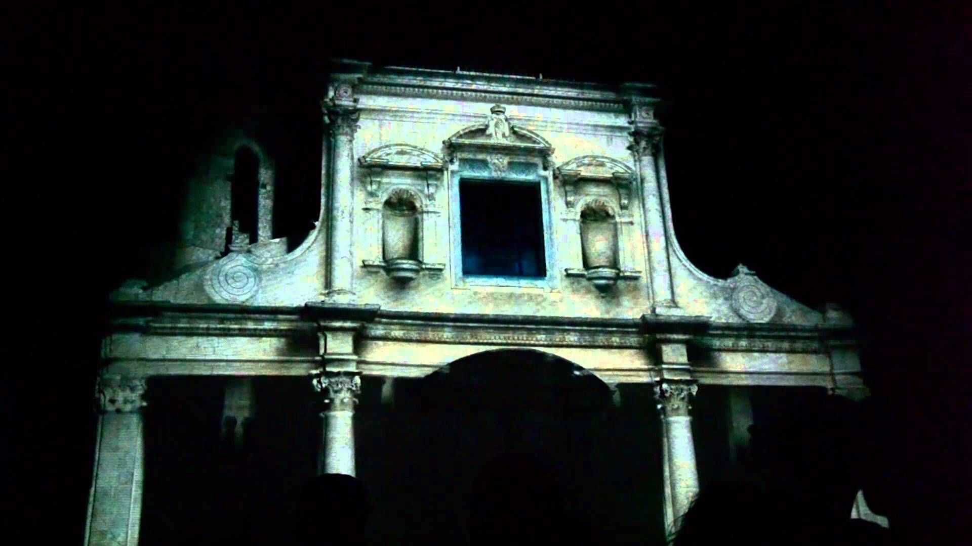 Digital lighting & 3D Videomapping - San Michele Arcangelo 2014 Palazzol...