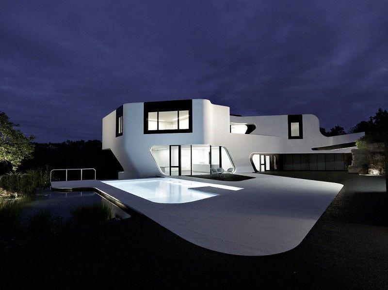 Dupli Casa By J Mayer H Germany Futuristic Home Architecture Design Architecture