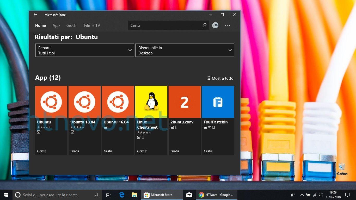 Adesso ci sono 3 App Ubuntu nel Microsoft Store di Windows