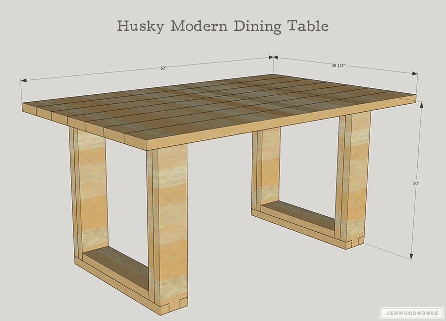 Husky Modern Dining Table Diy Dining Table Modern Dining Table