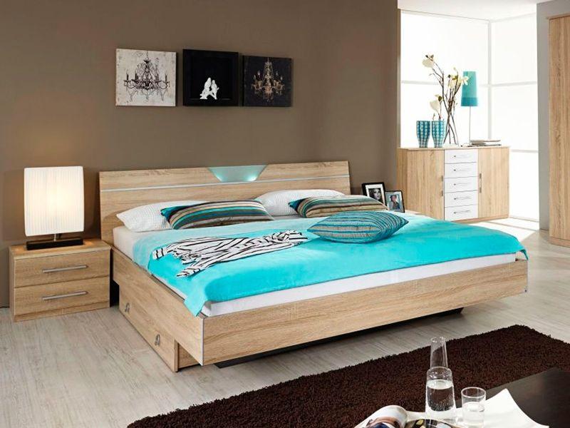 Eiche Schlafzimmer ~ Schlafzimmer mit bett cm montana eiche woody