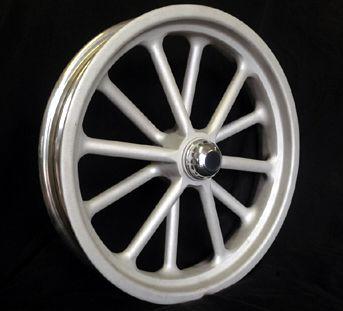 Radir Wheels Custom Wheels 12 Spoke Spindle Mount Wheels Tri Ribb Custom Wheels Custom Wheels Wheels Tires Truck Wheels