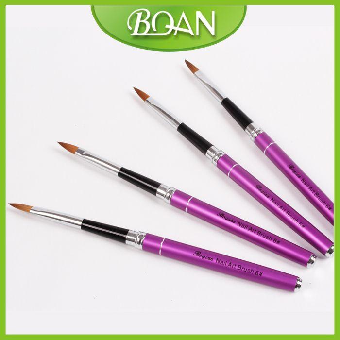 Kolinsky Nail Art Brush Acrylic 3d Nail Art Brush Popular Artiste ...