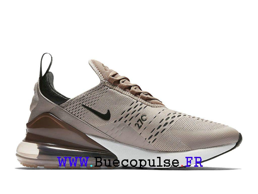 Nike Air Max 270 Coussin d´air Chaussures Homme Sepia Stone Brun ...