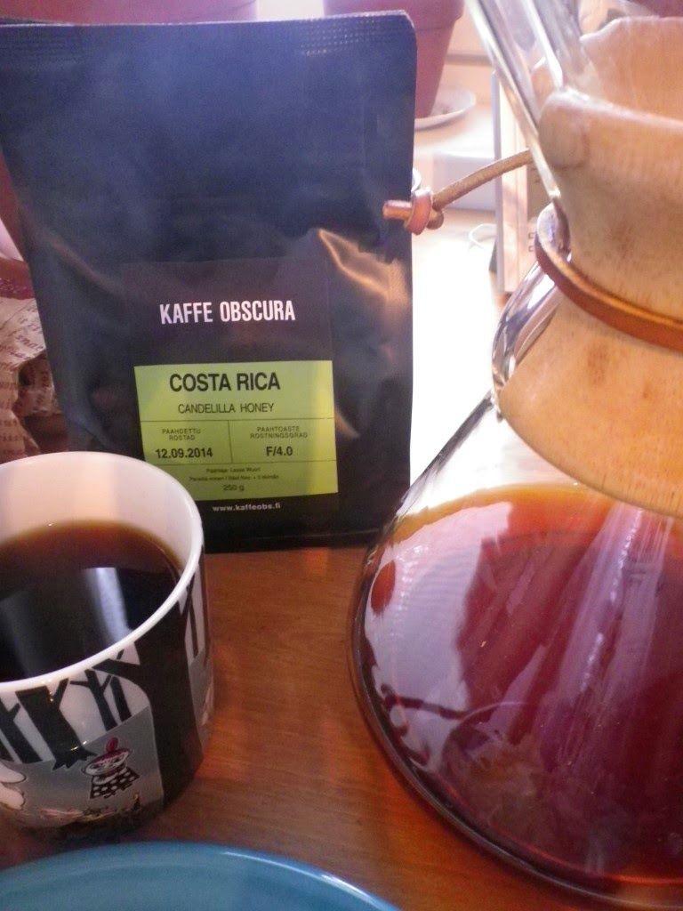 Kupissa: Kaffe Obscura | Panama Hacienda la Esmeralda Geisha - Puhdasta laatua ------- Esmeralda Geishaa on kovasti kehunut myös Erkki Palviainen. ------- http://kahviaetsuklaata.blogspot.fi/2014/11/kupissa-kaffe-obscura-panama-hacienda.html