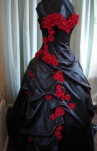 Gothic wedding dress