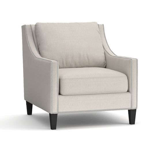 Pasadena Upholstered Armchair With Images Upholstered