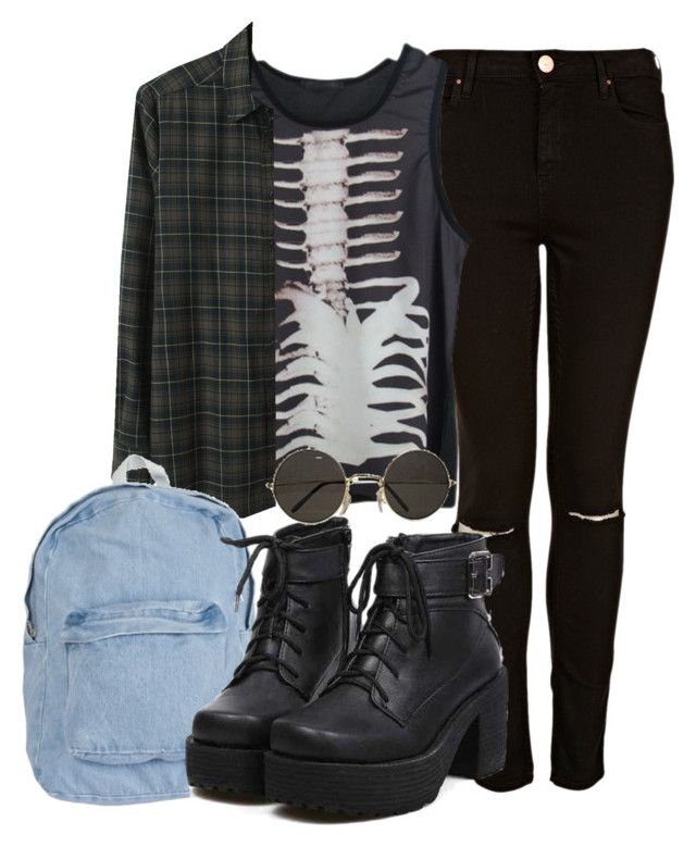 """""""when i saw you i fell in love, and you smiled because you knew"""" by alice-pimenta ❤ liked on Polyvore featuring Topshop, Rachel Comey and American Apparel"""