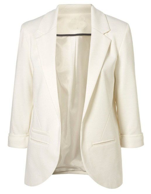Closet Staple - White Blazer - Also Available in Black.  All clothes on this site are $20-$40