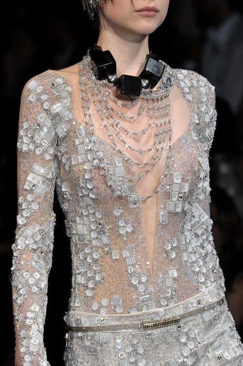 Great Lace - lose the child toy block necklace--   Armani Privé
