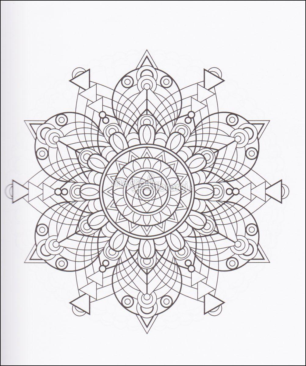 Afbeeldingsresultaat Voor Libri Antistress Da Colorare Mandala