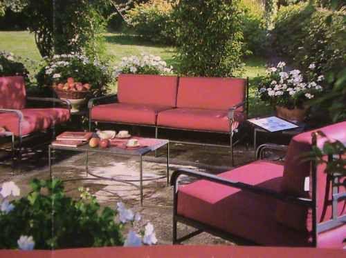 Juego sillones de jardin hierro forjado oferta verano for Sillones de terraza