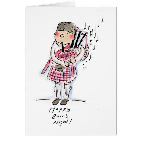 Happy burns night card making ideas pinterest burning s happy burns night card burnsnight rabbieburns cards or postage m4hsunfo