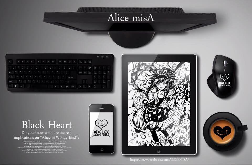 ALICE  MISA心夢少女 Black heart沌黑之心 by hoelex