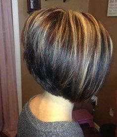 Image result for short dark brown hair with highlights image result for short dark brown hair with highlights pmusecretfo Gallery