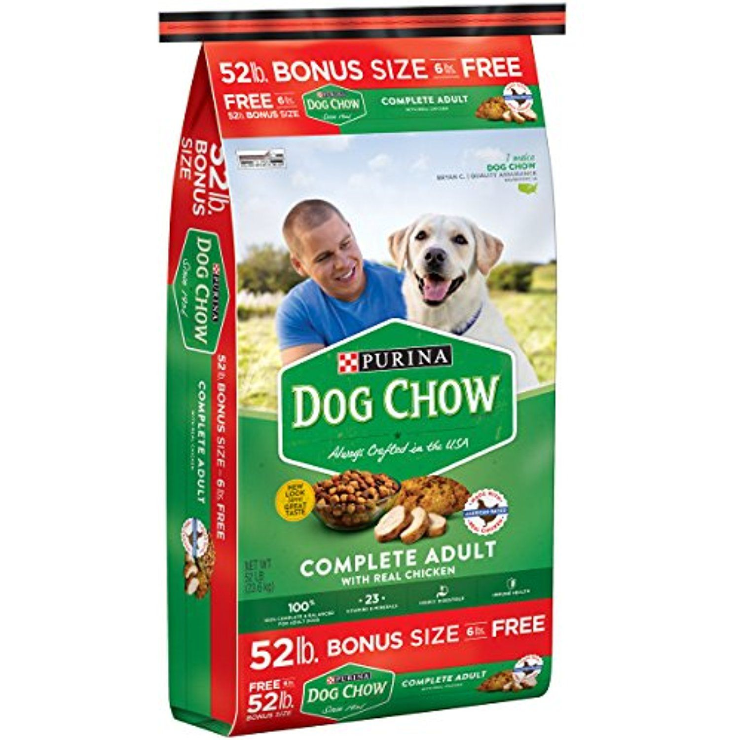Purina Dog Chow Complete Adult Chicken Flavor 52lbs To Have