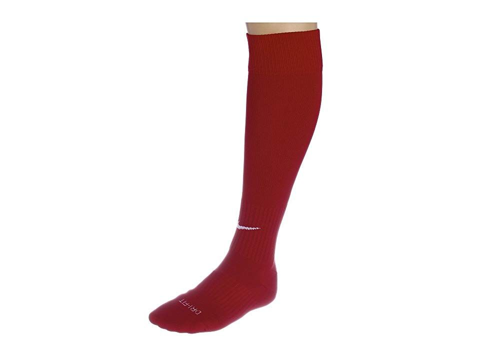 Nike Nike Soccer Classic Sock Varsity Red White Knee High Socks Shoes Bend It Like A Pro With The Help Of These Nike Soccer Socks Dri Fi Shoes In 2019