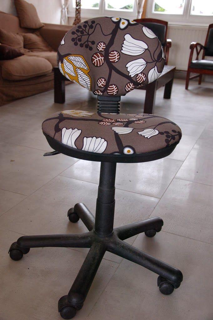 Ma chaise de bureau a une drle dallure des tches du tissu