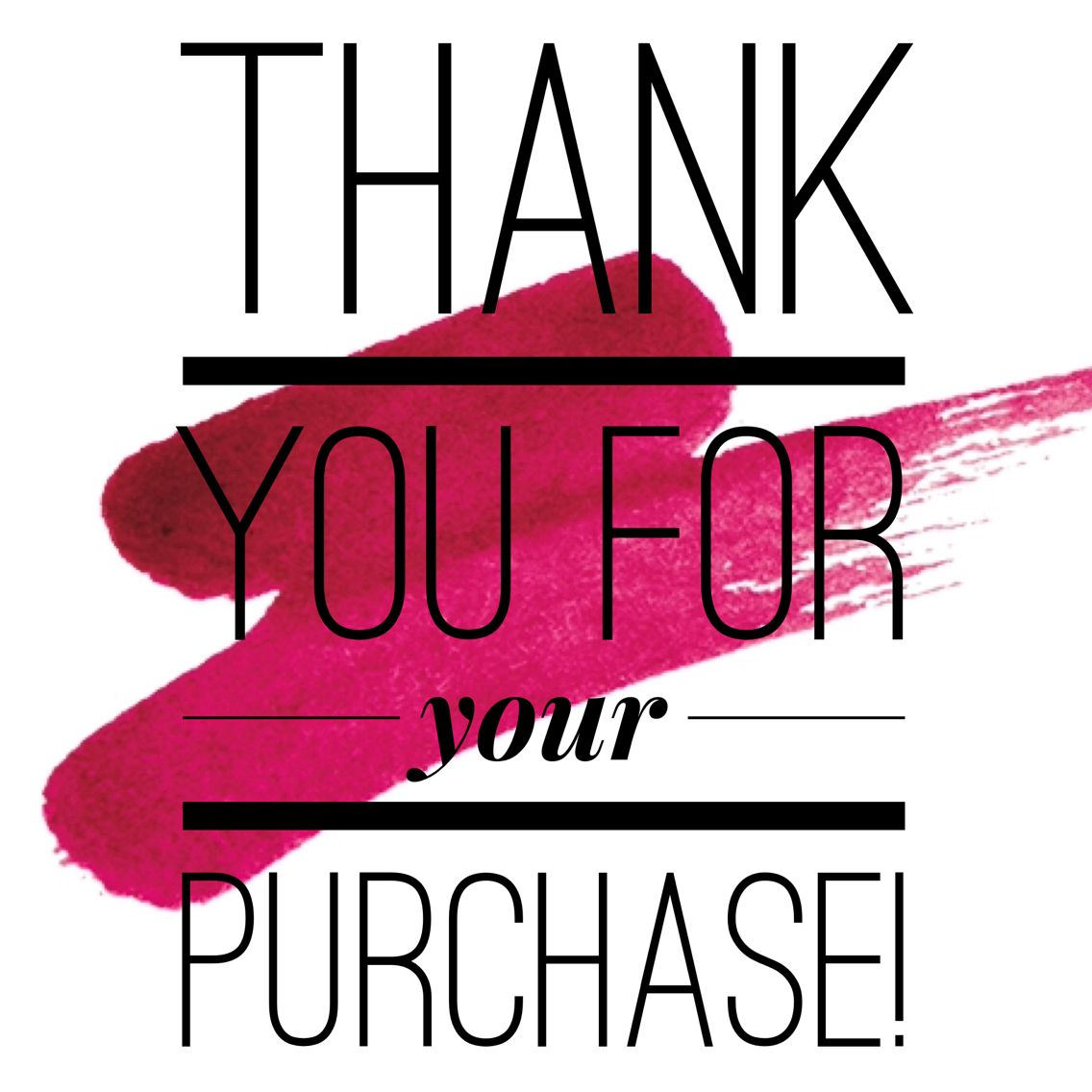 Thank You For Your Purchase Sultry Lip Stain Younique