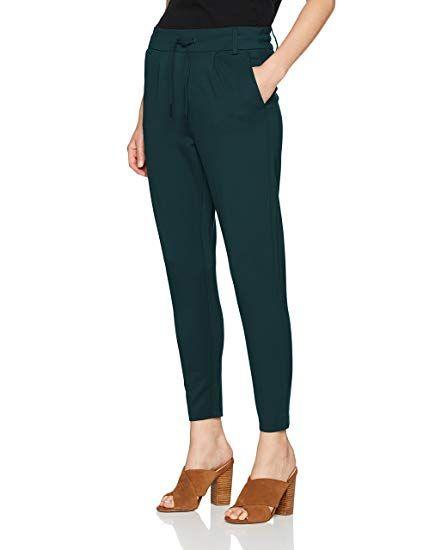 e5646e035beeb1 ONLY Damen Hose Onlpoptrash Easy Colour Pant Pnt Noos, Grau (Green Gables),