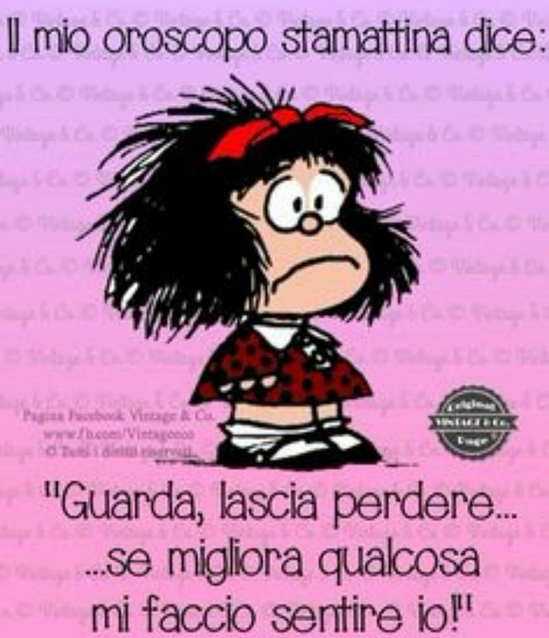 Buongiorno lunedi oroscopodelgiorno oroscopo mafalda for Vignette buongiorno divertenti
