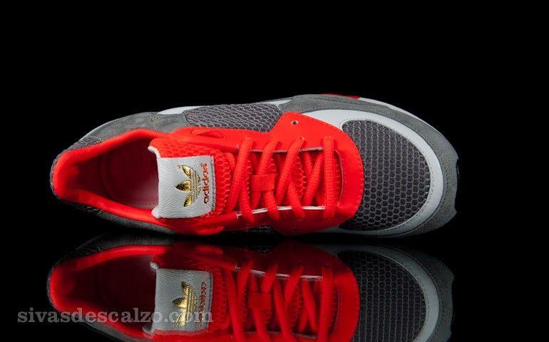 842ada617ac32 adidas ObyO David Beckham ZX 800 Grey Rock   Infrared   Running White