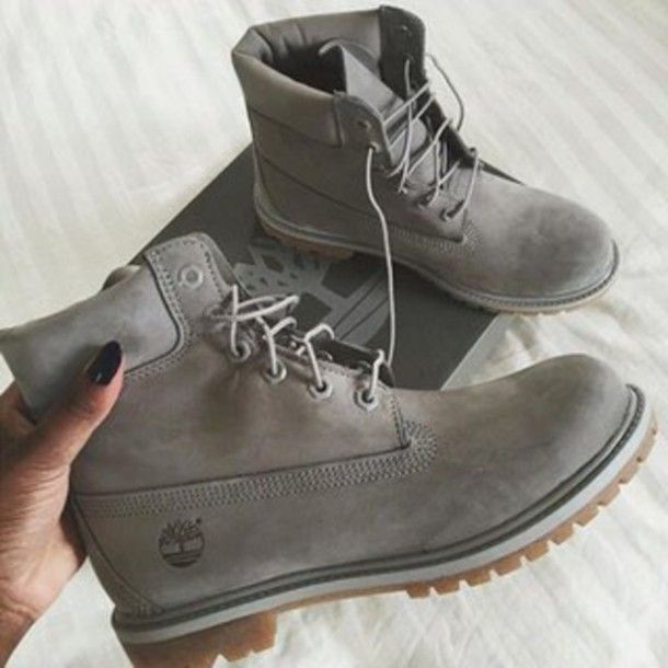 grey timberland boots womens
