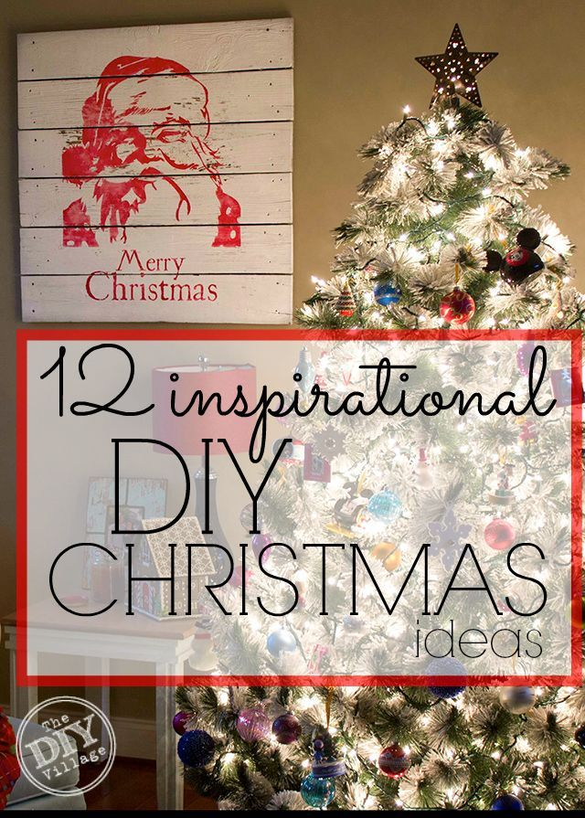 12 Inspirational DIY Christmas Decor Ideas 12
