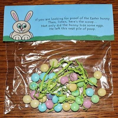 Easter bunny poop silly fun for toddlers you will need ziplock easter negle Image collections