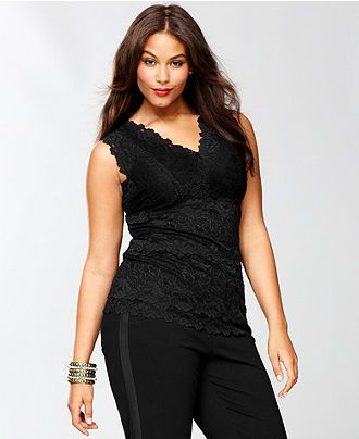 18b37496a4ff3 INC International Concepts Plus Size Top