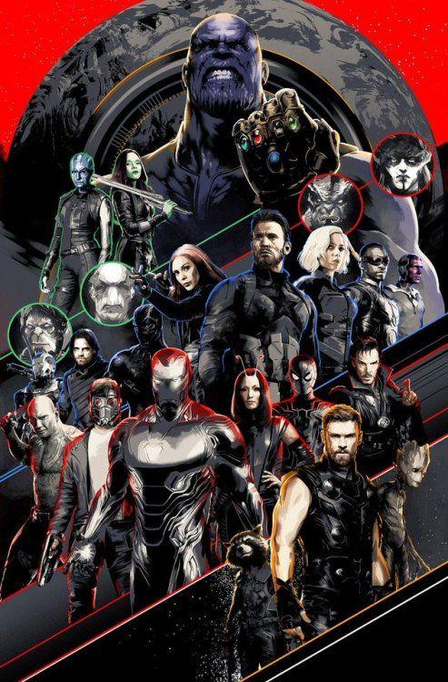 Avengers: Infinity War - Matt Taylor   Marvel Cinematic Universe ...