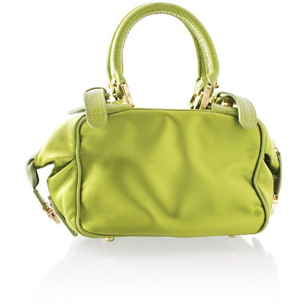 Lacroix Vert Lime Green Bag 450 Liked On Polyvore Featuring Bags
