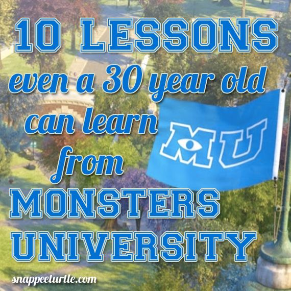 10 lessons even a 30 year old can learn from monsters university 10 lessons even a 30 year old can learn from monsters university voltagebd Choice Image