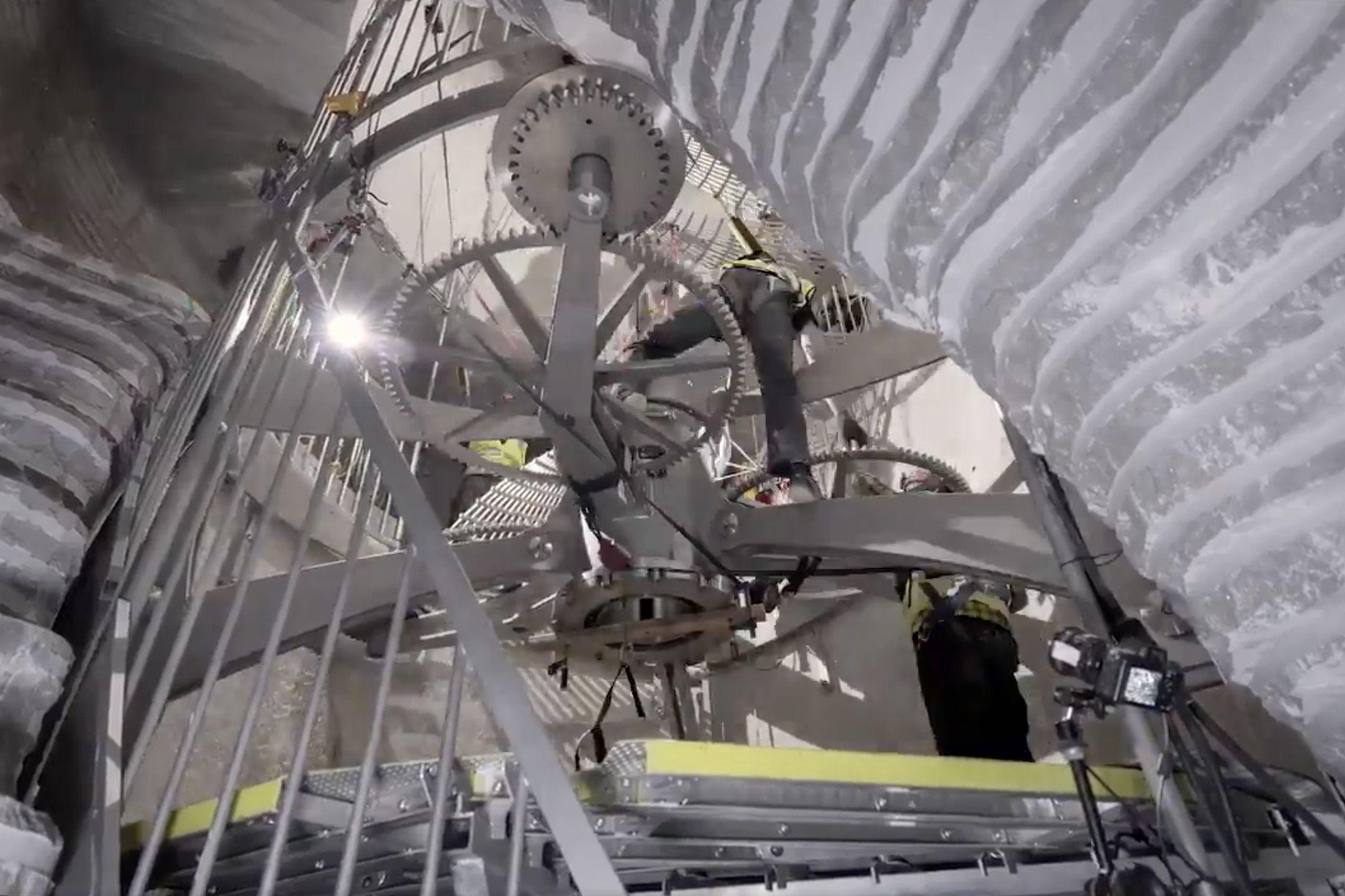 Construction Begins On Jeff Bezos 42 Million 10 000 Year Clock Clock Mechanical Clock Traditional Clocks