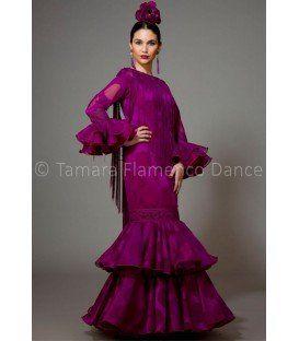 trajes de flamenca 2016 mujer - Aires de Feria - Brisa cardenal