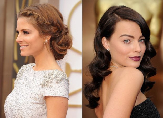 So today we've picked a few choice wedding hairstyles and make-up looks from the Oscars ceremony.