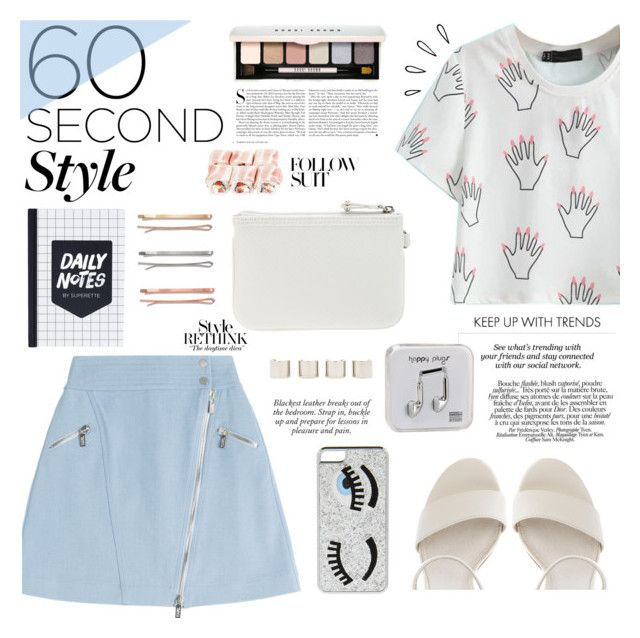 """""""60 Second Style: Graphic T-Shirts"""" by modarnist ❤ liked on Polyvore"""