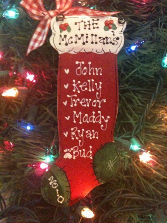 Personalized Christmas Wood Crafts