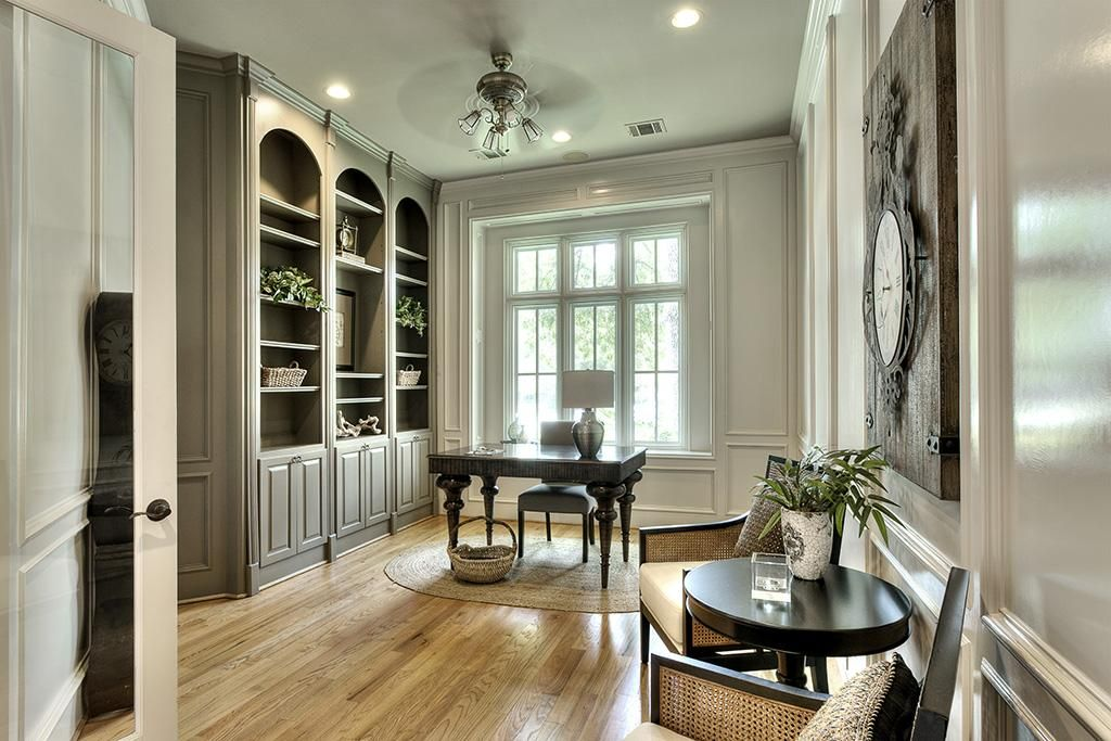 enjoyable building green homes ideas. Gorgeous home study  with painted paneling built ins plenty of natural light THE STUDY IS IMMEDIATELY TO YOUR LEFT ONCE YOU ENTER HOME