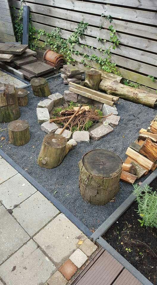 Vuurplaats vuurplaats tuin pinterest vuurplaats tuin en achtertuin vuurplaatsen - Wijnstokken pergola ...