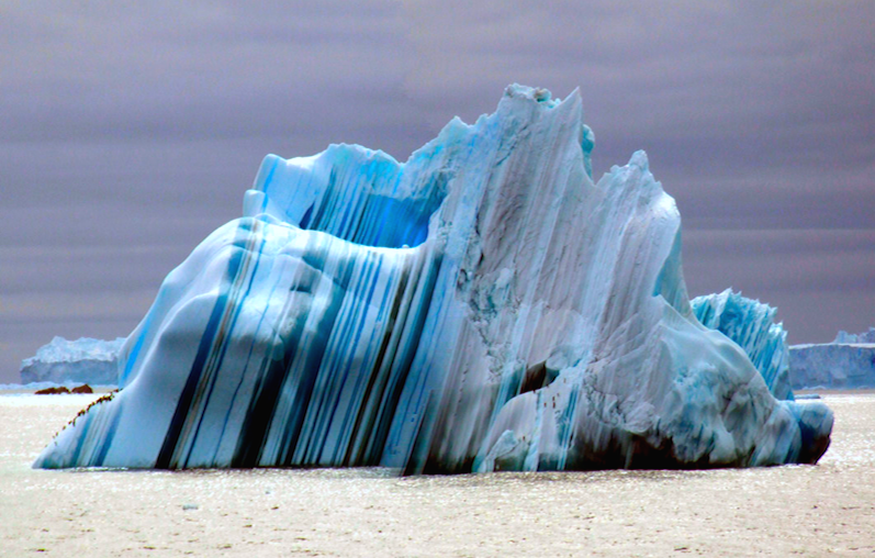 Striped Iceberg - Copyright All rights reserved by duthion all the ...
