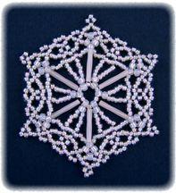 Snowflake #72 Ornament Pattern