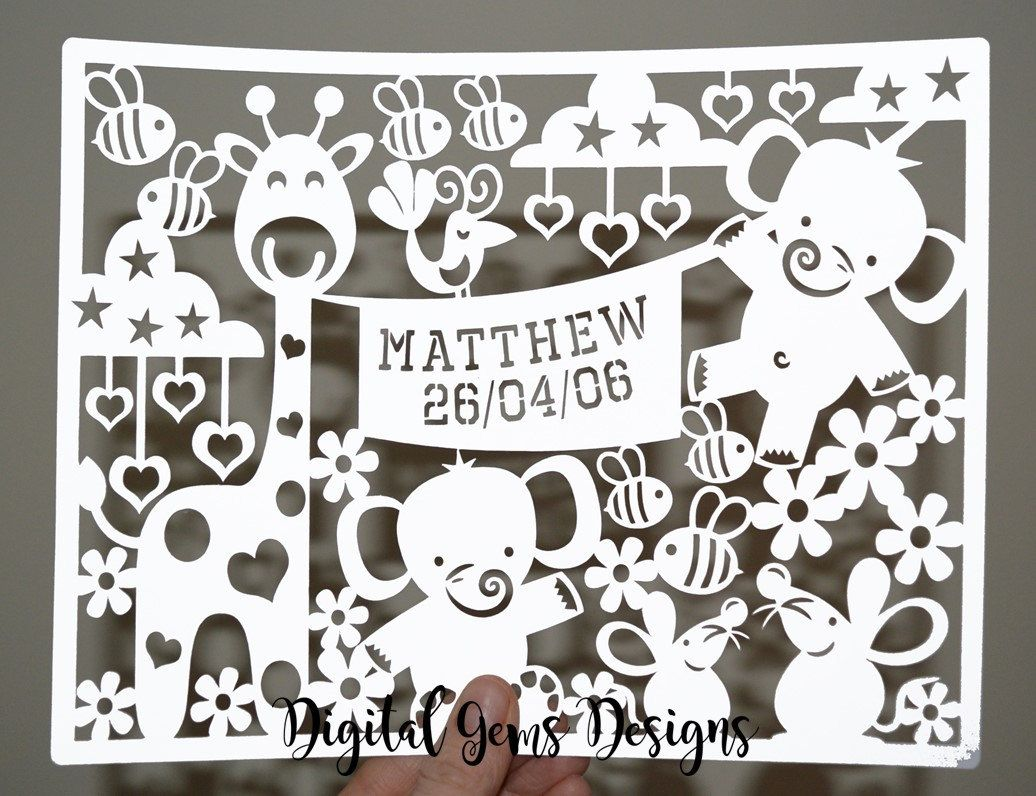 View Animal Paper Cut Svg / Dxf / Eps Files Crafter Files