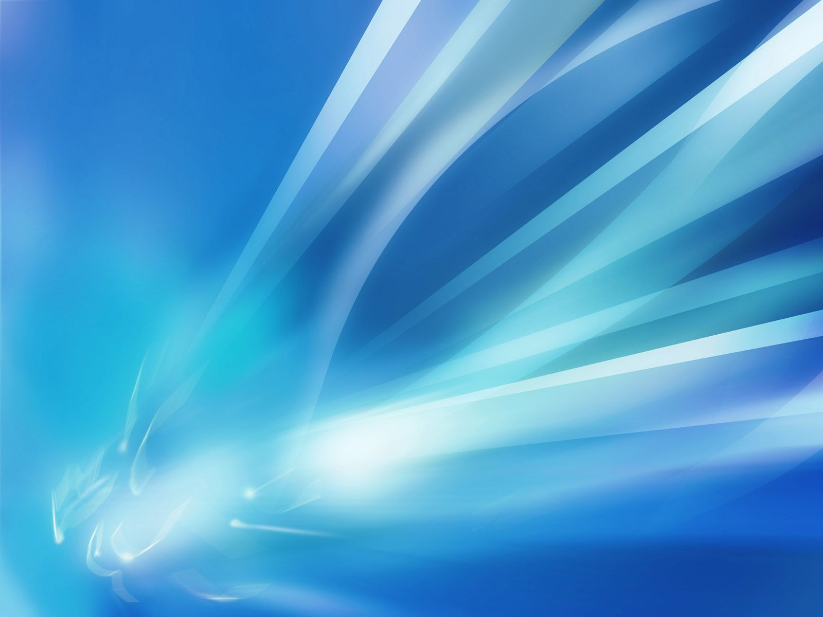 Blue Crystal Lines Abstract Abstract Abstract Template Blue