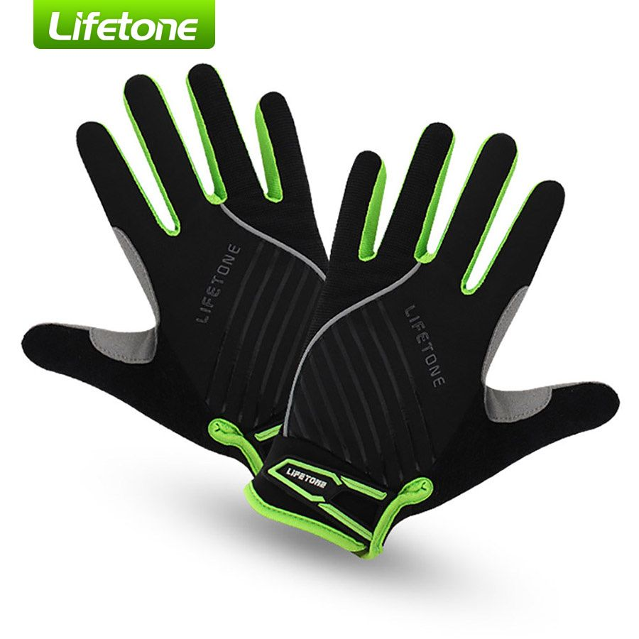 Winter Sports Cycling Bike Bicycle Riding Outdoor Gel Padded Full Finger Gloves