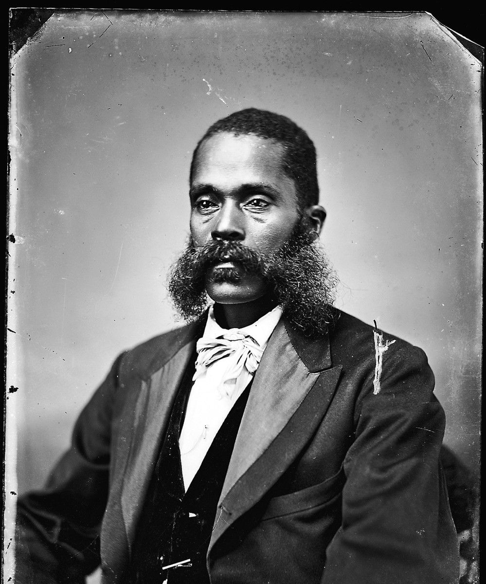 Man With Mutton Chop Sideburns With Images Vintage Beard The