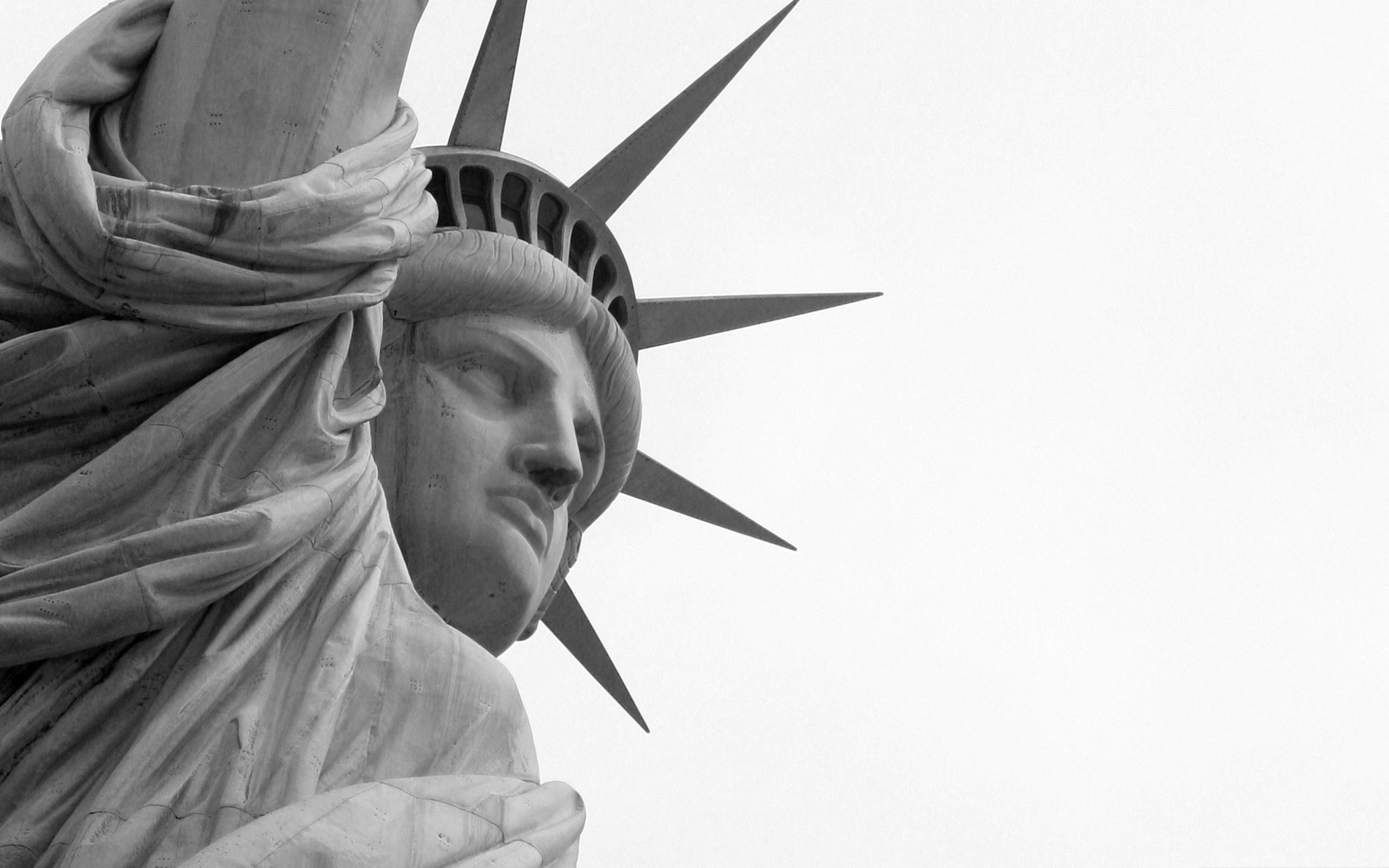 Wallpaper 2560x1600 Statue Of Liberty Stone Landmark Background