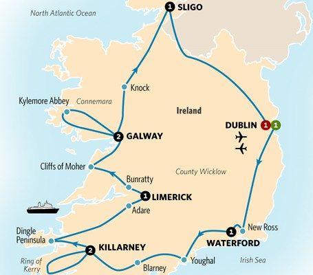 Best Of Ireland Best Of Ireland Ireland Tours Ireland