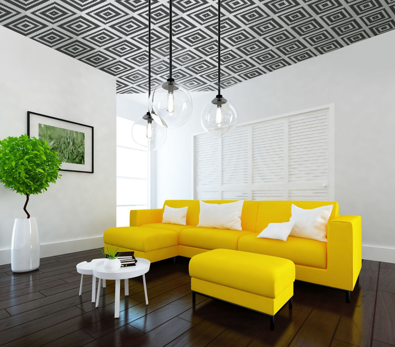 5 statement ceiling ideas using wallpaper | Ceilings, Wallpaper and ...